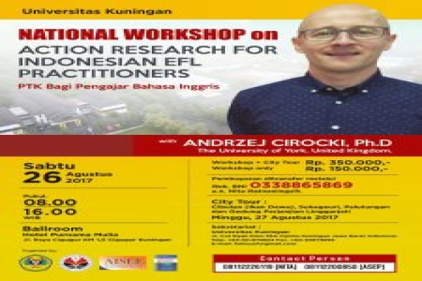 Workshop PTK, Uniku Datangkan Ahli Bahasa Dari University of York