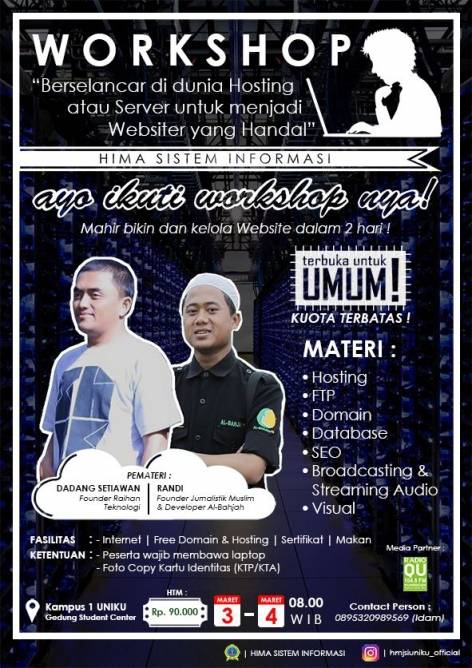 Hima SI Bakal Gelar Workshop Websiter Handal
