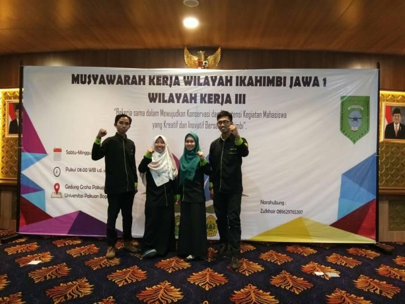 Mahasiswa Biologi Ikut Musker IKAHIMBI Jawa 1