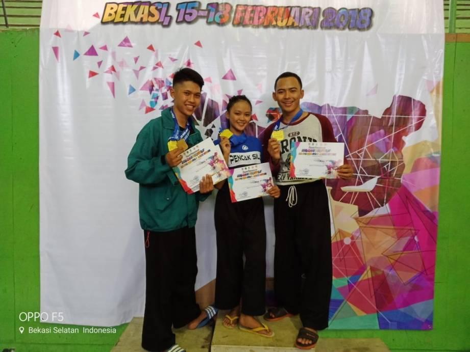 Mahasiswa Uniku Raih Prestasi Pencak Silat di Tingkat Nasional