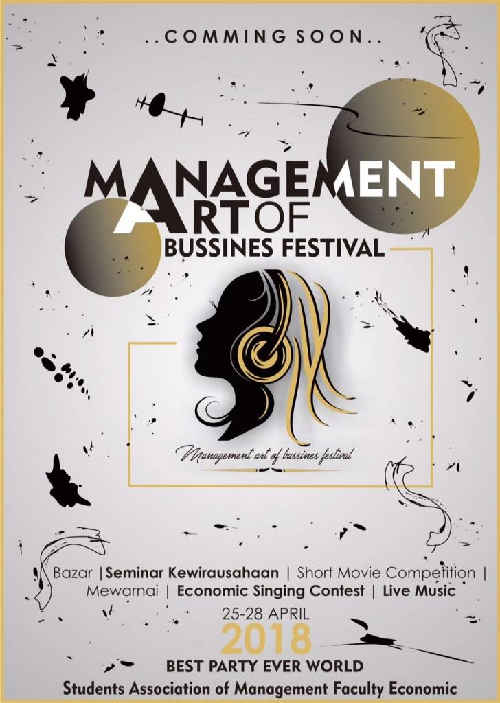 Comming Soon….Management Art Of Bussines Festival