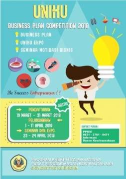 Kembali, PPKM Bakal Gelar Business Plan Competition 2018