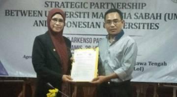 Uniku – Universiti Malaysia Sabah Menandatangani LoI