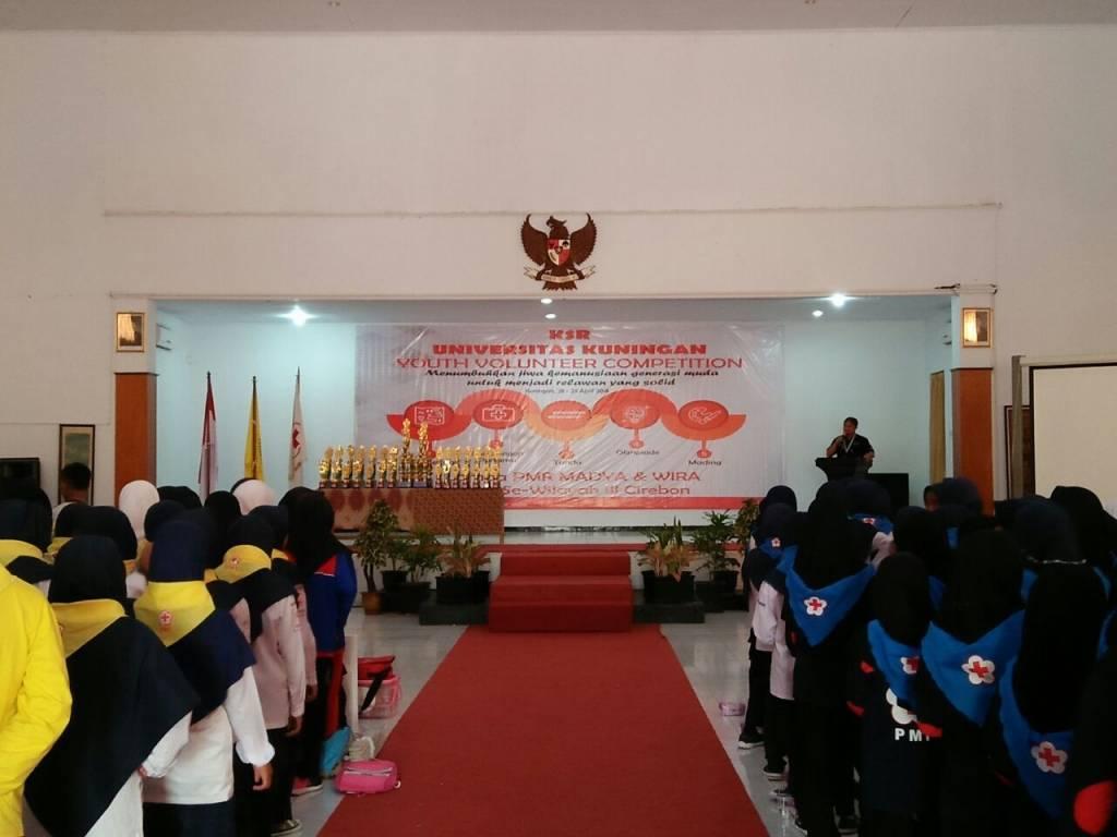 Ratusan Siswa Ikuti YVC KSR PMI se-Wilayah III Cirebon