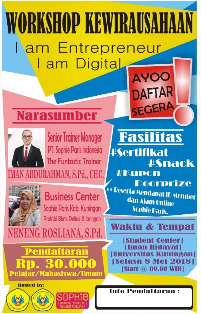 Hima PE Bakal Gelar Seminar Nasional Kewirausahaan