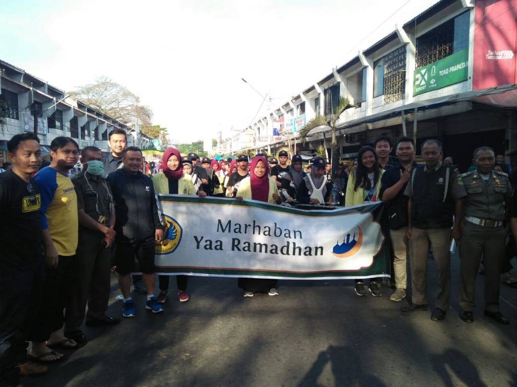 Sambut Ramadhan, 200 Mahasiswa Uniku Ikut Pawai