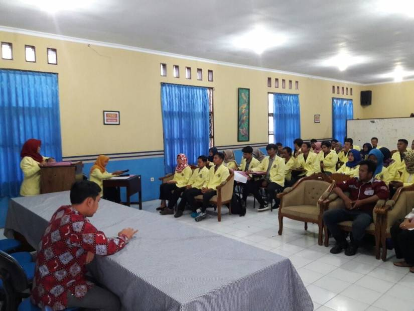 BLM, BEM dan Hima FH Uniku Periode 2018 – 2019 Dilantik