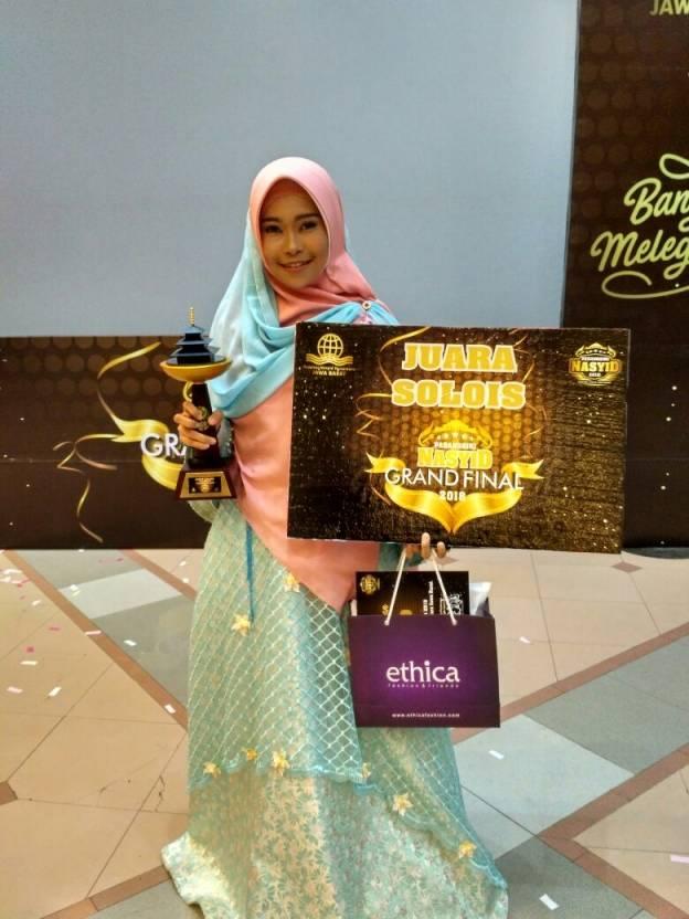Desi Juara Pasanggiri Nasyid Jawa Barat 2018