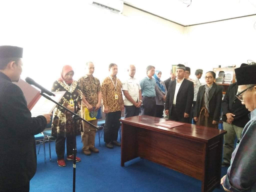 3 Pejabat Struktural DKV FKOM Dilantik