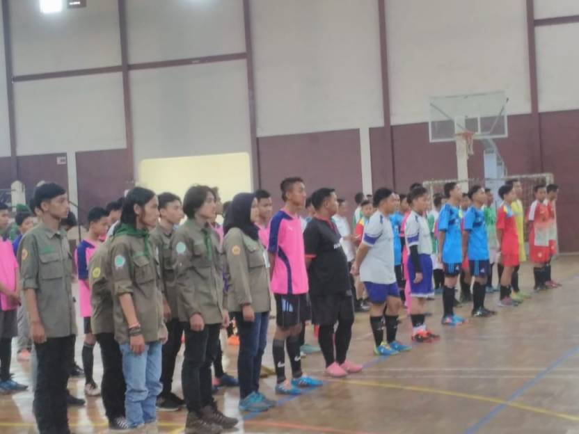 70 Tim Ikuti Rimbawan Student Futsal Competition 2018