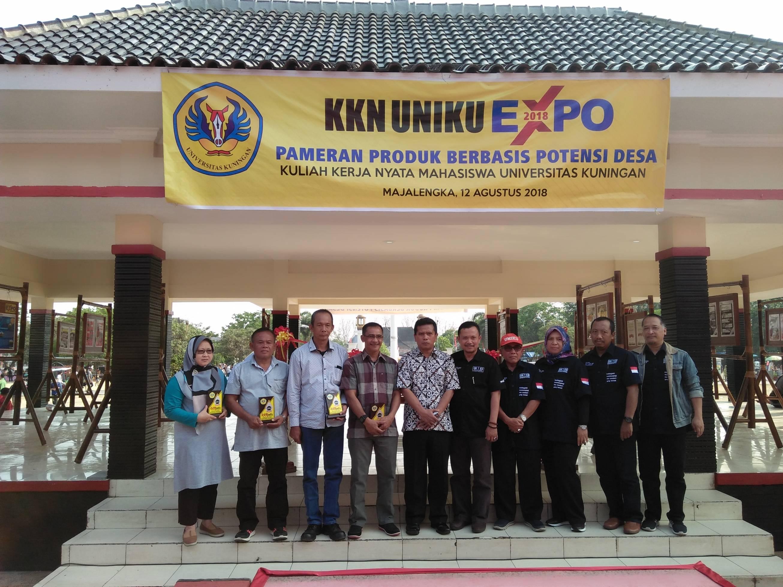 KKN Expo Uniku Pamerkan Berbagai Potensi Desa di Majalengka