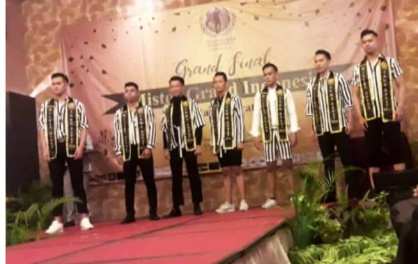 "Rizal Raih ""RU 4 Mister Grand"" 2018"