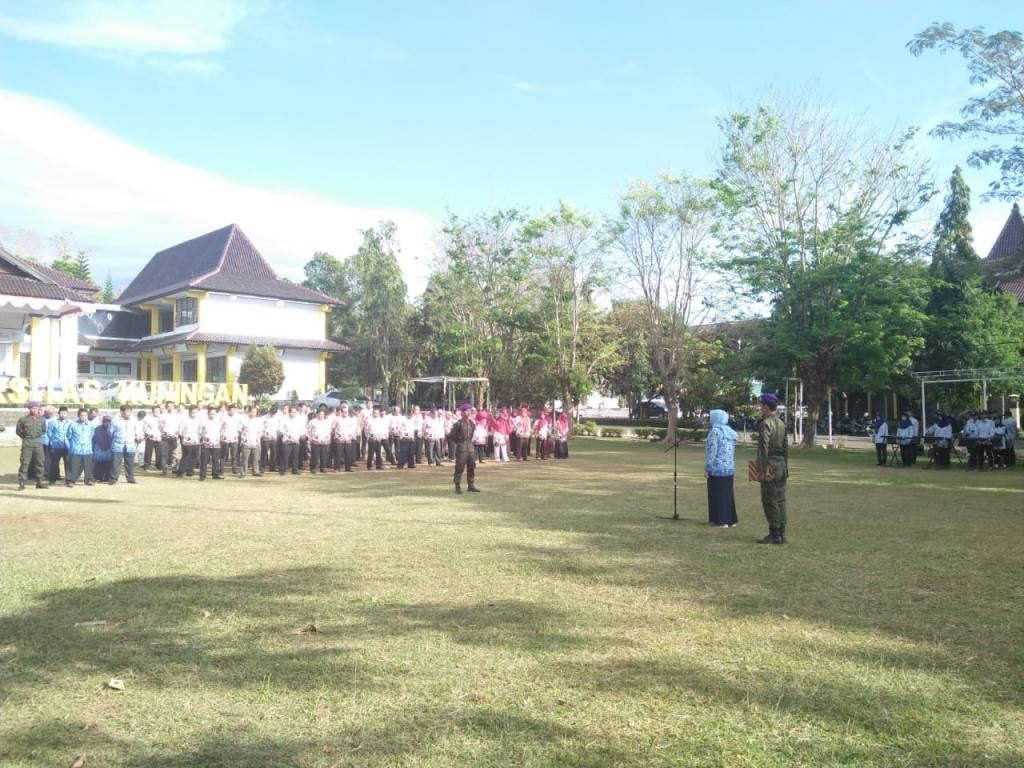 Warek I Pimpin Upacara Hari Kesadaran Nasional (HKN)
