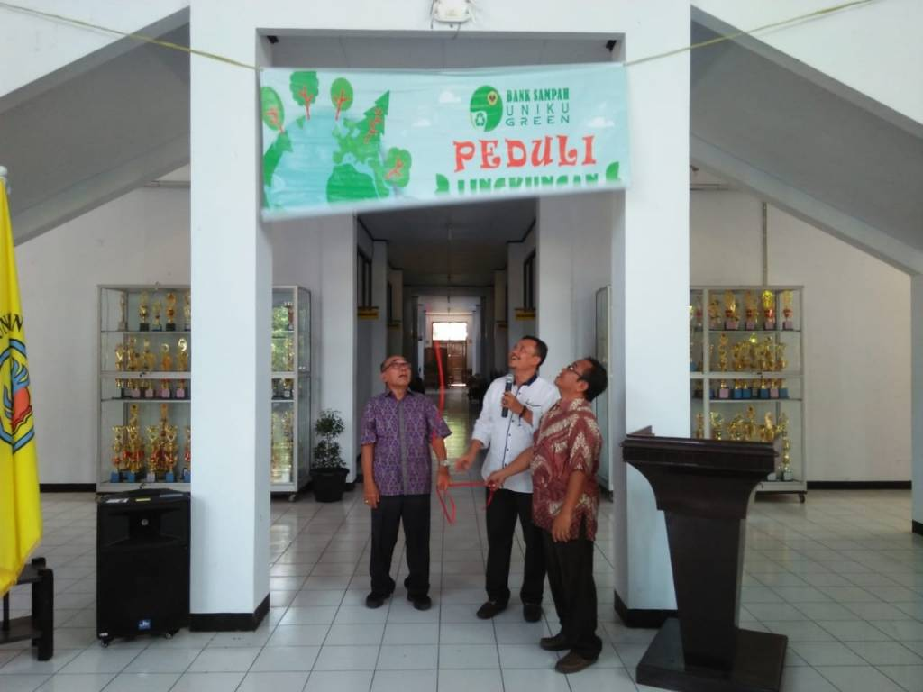 Bank Sampah Uniku Green Diresmikan