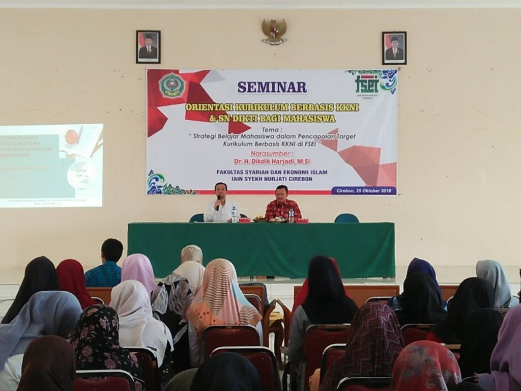 Rektor Isi Materi di IAIN Cirebon