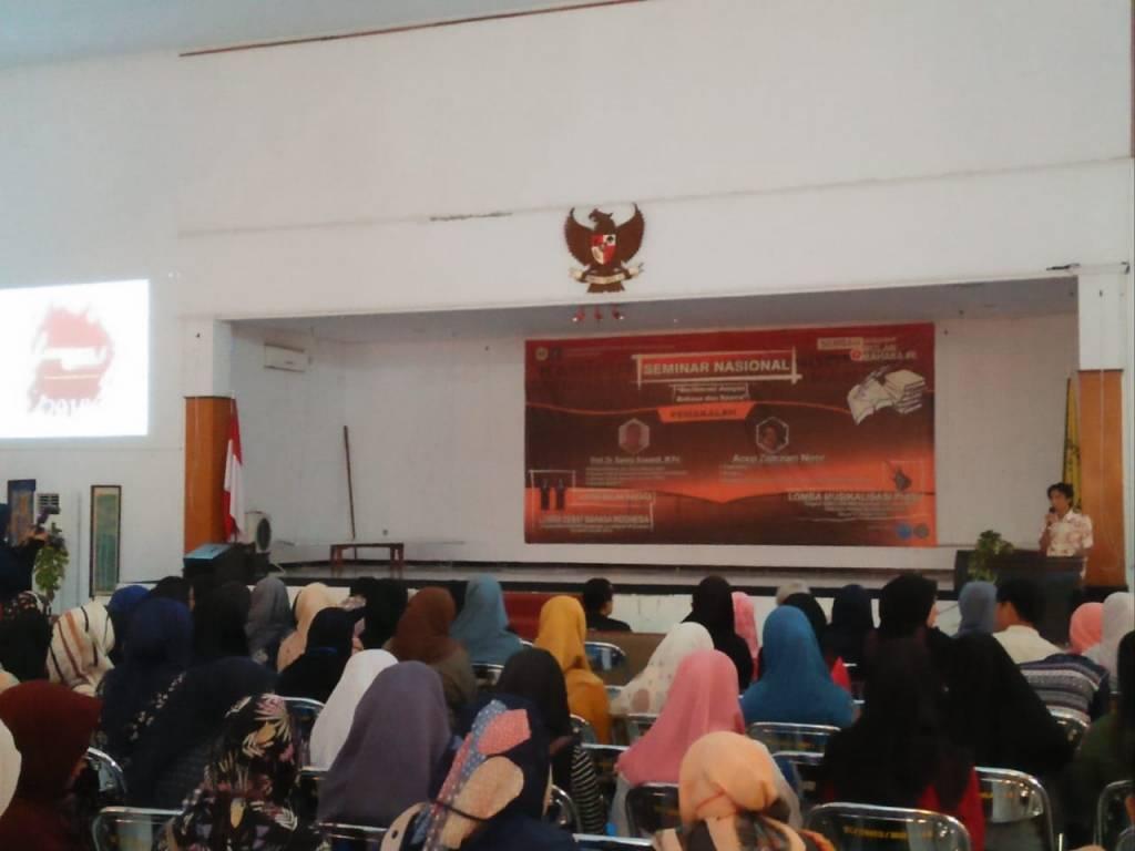 Hima PBSI Tutup Semarak Bulan Bahasa Dengan Seminar Nasional