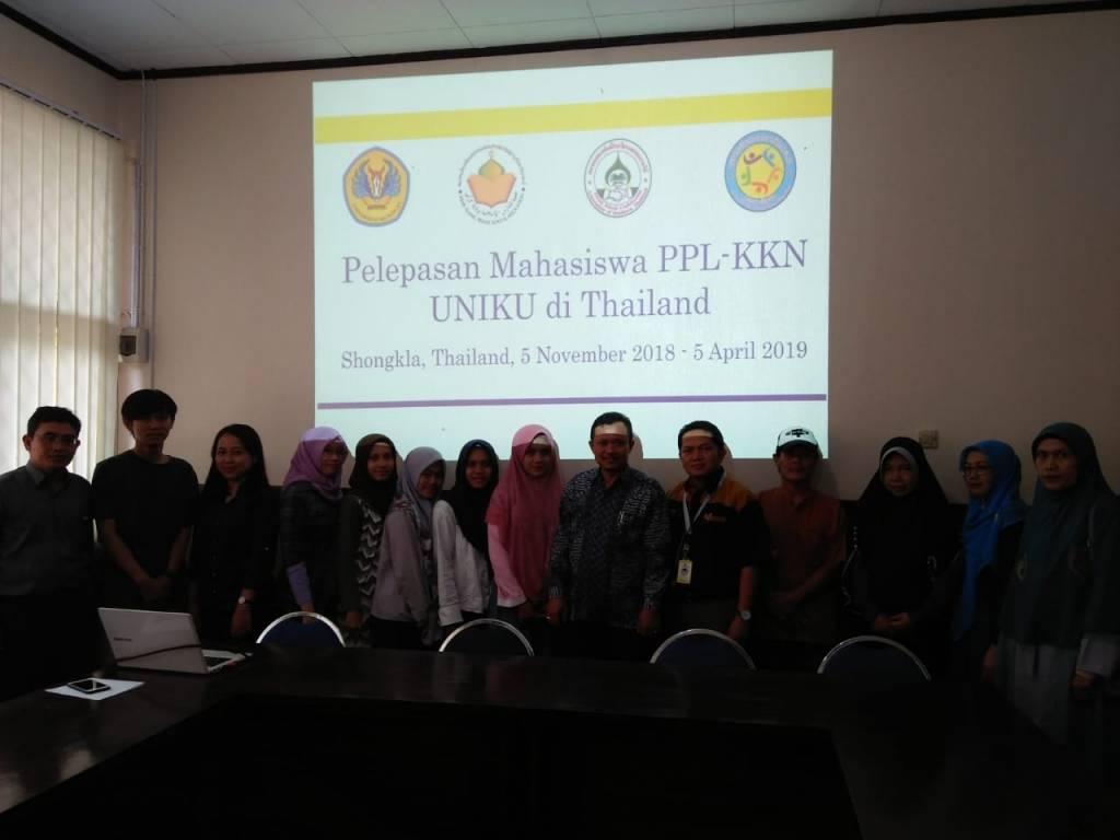 6 Mahasiswa PBI FKIP Uniku PPL di Thailand Selatan