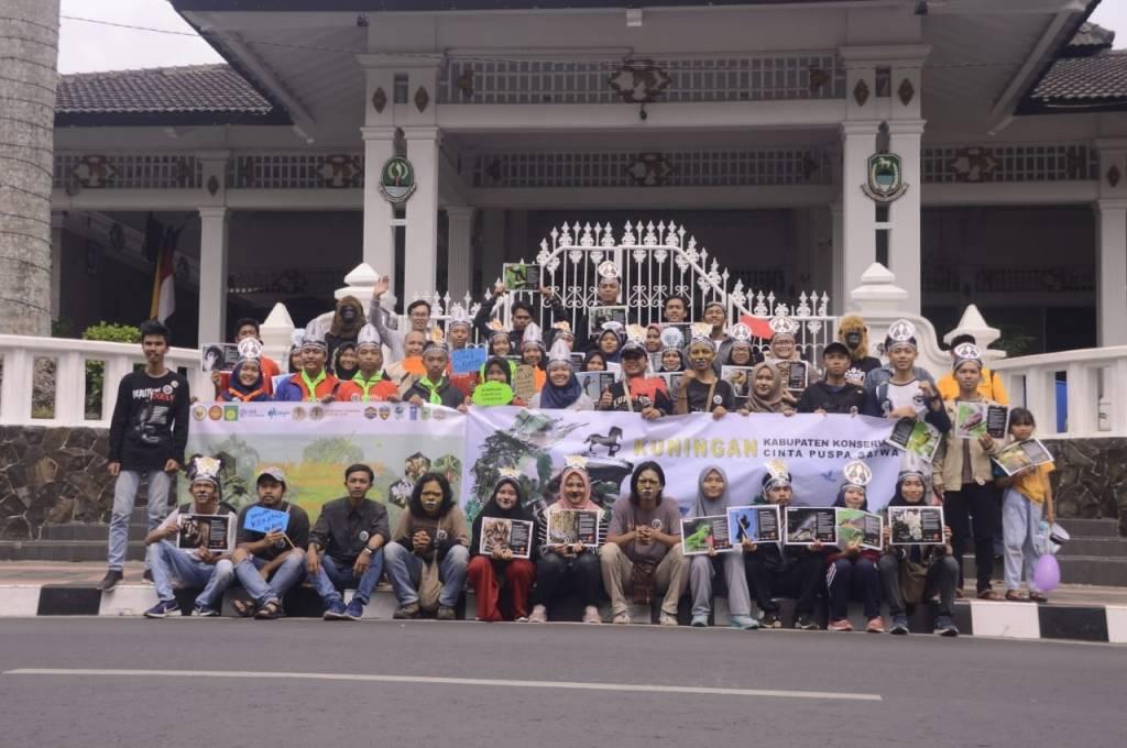 Peringati Hari Cinta Puspa dan Satwa Nasional, Ini Giat KSK Fahutan Uniku