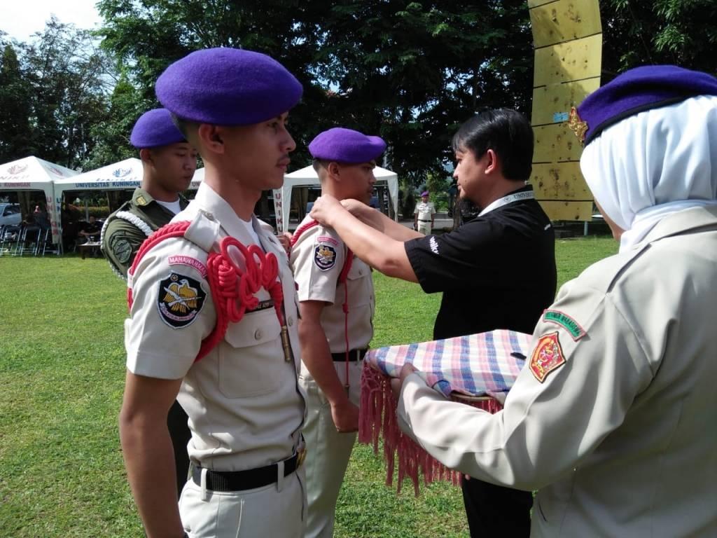 Di Hari Pahlawan, Menwa Gelar Sertijab Komandan Kompi Uniku