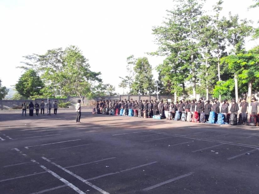 Puluhan Mahasiswa Fahutan Ikuti LKKR di Buper Pasirbatang