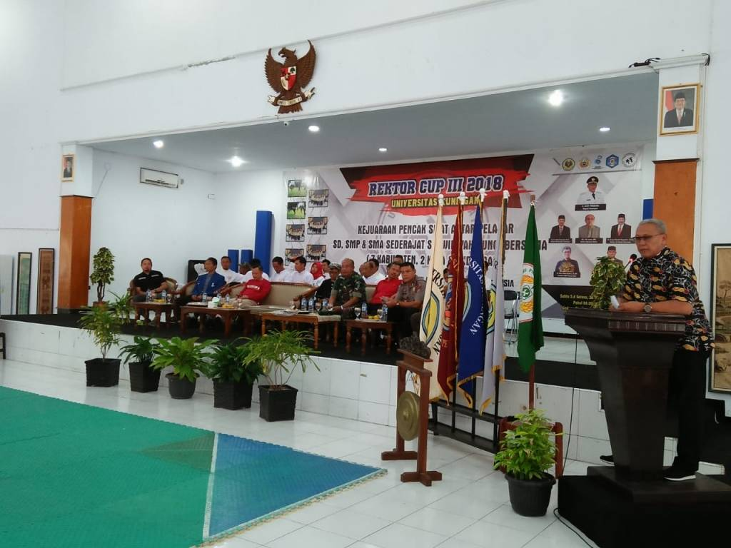 Ratusan Pesilat Ikuti Rektor Cup III se-Kunci Bersama